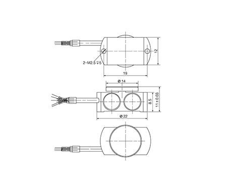 微型压式传感器FCW-2522